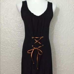Vince Camuto Sleeveless Tunic, Black, Size XS/S